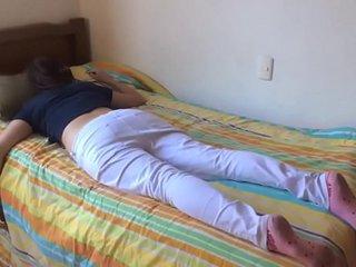 Teen sister fucked while sleeping