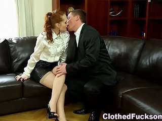 Sexy glam whore spunked