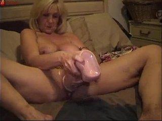 Mature Big Sextoy Masturbation