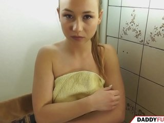 pervert father spies his daughter