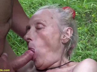 extreme ugly 86 years old mom first brutal public fuck