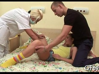 Legal age teenager porn video