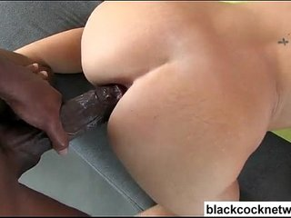 Emily Austin riding monster cock Mandingo